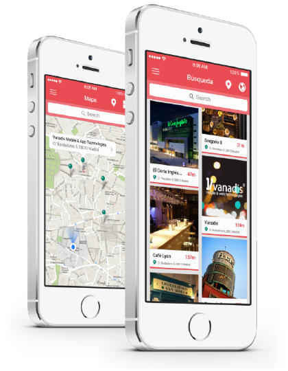 geolocation mobile app design
