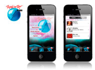diseño de app social
